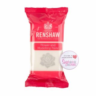 Renshaw Flower and Modelling Paste WHITE NEW 1Kg