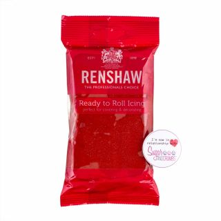 Renshaw Sugarpaste Poppy Ruby Red 250g