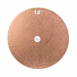 Cake Drum ROUND COPPER 12 Inch