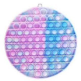 S&C Bubble Pop Marble Pink & Blue - 4.5inch Round