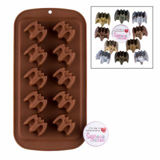 S&C Silicone Mould Chocolate Bat