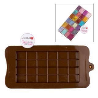 S&C Silicone Mould Chocolate Block Bar