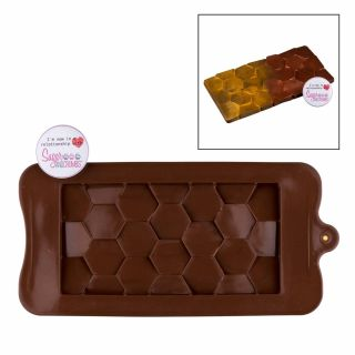 S&C Silicone Mould Chocolate Domino.abcd