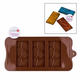 S&C Silicone Mould Chocolate Leaves