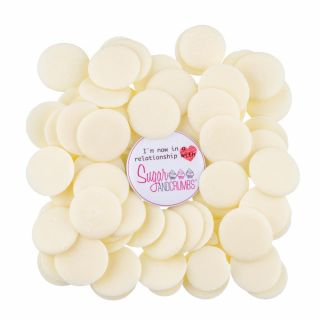 S&C Tempered WHITE Chocolate 1kg *New Bigger Size*