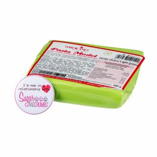 Saracino Modelling Paste Verde Chiaro LIGHT GREEN 250g
