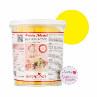 Saracino Modelling Paste Giallo YELLOW Large Tub 1Kg