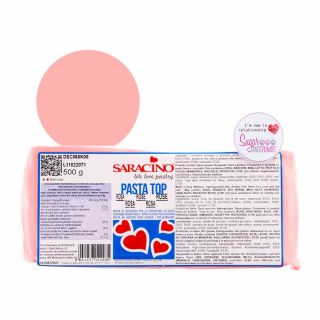Saracino Pasta Top Sugarpaste Rose 500g