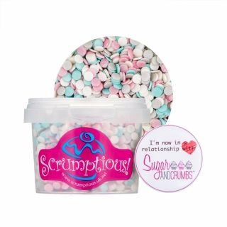 Scrumptious Glimmer Confetti Wedding Mix 70g