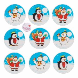 Show Time Fun Sugar Plaque Pack of 45.