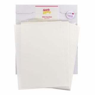 Simply Making EDIBLE ICING SHEETS Pack of 25