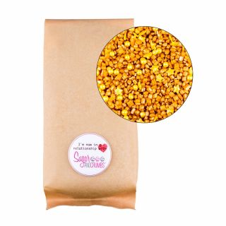 Sprinklelicious Rocks and Pearls Gold Large Bag 500g