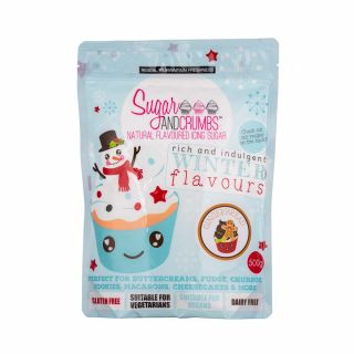 Sugar and Crumbs Natural Flavoured Icing Sugar GINGERBREAD 500g