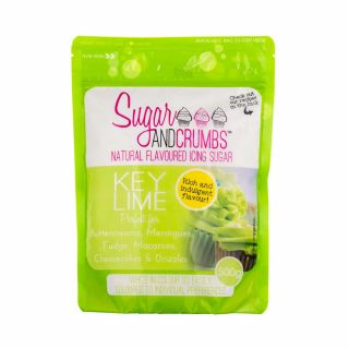 Sugar and Crumbs Natural Flavoured Icing Sugar KEY LIME 500g