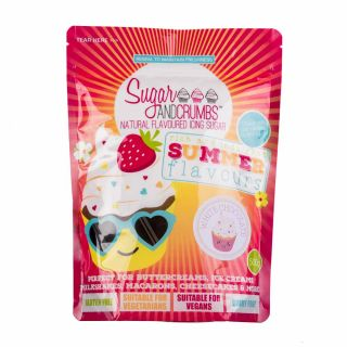 Sugar and Crumbs Natural Flavoured Icing Sugar WHITE CHOCOLATE 500g