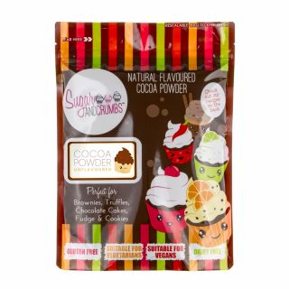 Sugar and Crumbs Cocoa Powder Unflavoured 250g