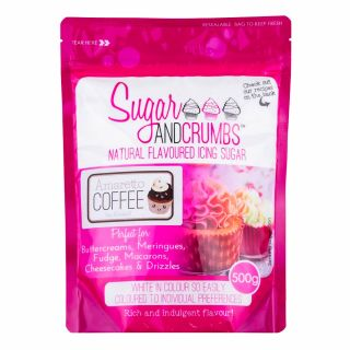 Sugar and Crumbs Icing Sugar AMARETTO Coffee