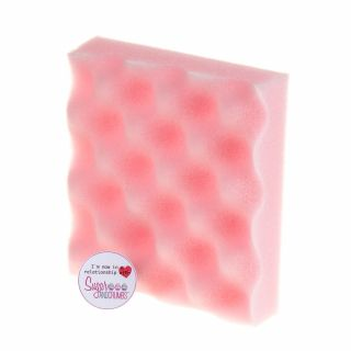 Sugar and Crumbs Pink MINI Flower Foam Drying Tray