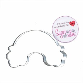 Sugar and Crumbs Rainbow Cookie Cutter