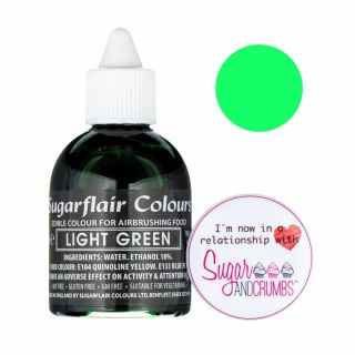 Sugarflair AIRBRUSH Liquid Light Green 60ml