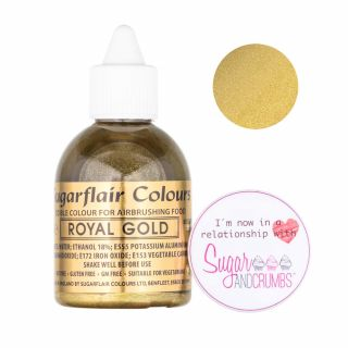 Sugarflair Airbrush Liquid ROYAL GOLD