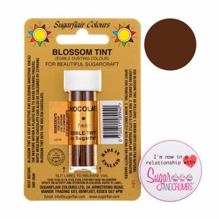 Sugarflair Blossom Tint Edible Dust Matt Chocolate