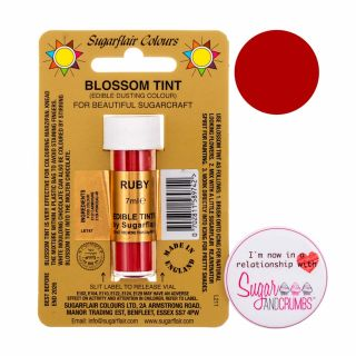 Sugarflair Blossom Tint Edible Dust Matt Ruby