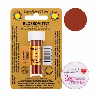 Sugarflair Blossom Tint Edible Dust Matt Terracotta