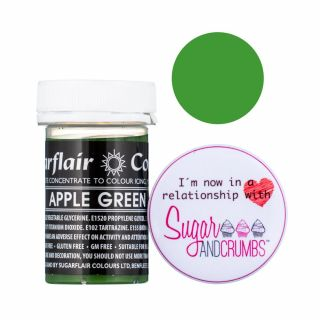 Sugarflair Pastel Concentrated Edible Paste Apple Green