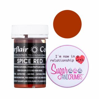 Sugarflair Pastel Concentrated Edible Paste Spice Red