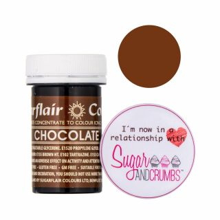 Sugarflair Spectral Concentrated Edible Paste Chocolate