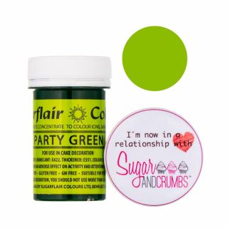 Sugarflair Spectral Concentrated Edible Paste Party Green