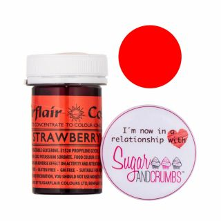 Sugarflair Spectral Concentrated Edible Paste Strawberry