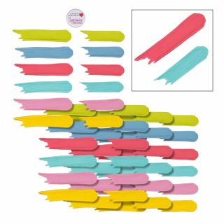 SugarSoft 48 Edible Brush Strokes Assorted Colours