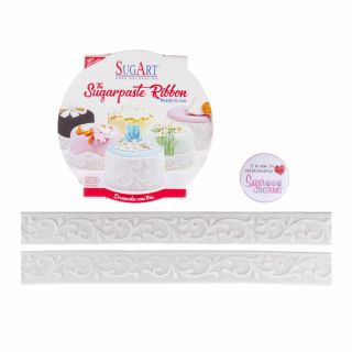SugArt Sugarpaste Ribbon Signature Double No 10