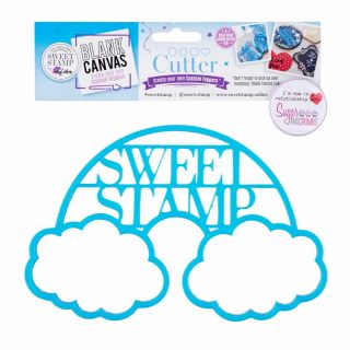 Sweet Stamp Blank Canvas CUTTER Rainbow