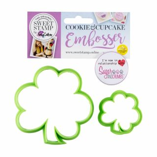 Sweet Stamp Cookie Cutters SHAMROCK Set of 2