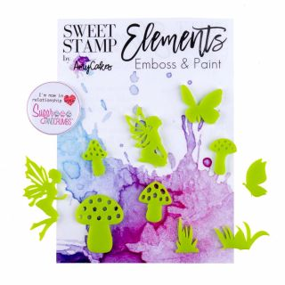 Sweet Stamp Elements ENCHANTED GARDEN