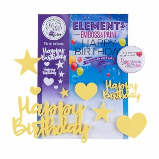 Sweet Stamp Elements HAPPY BIRTHDAY