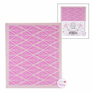 Sweet Stamp Stencil Pattern 8