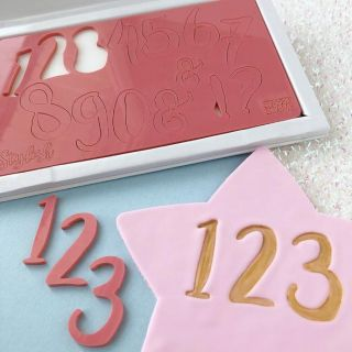 Sweet Stamp STYLISH NUMBERS with Presentation Box