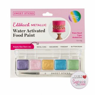 Sweet Sticks Mini Pallette Food Paint MERMAID