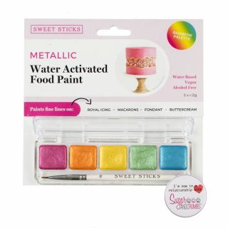 Sweet Sticks Mini Pallette Food Paint RAINBOW