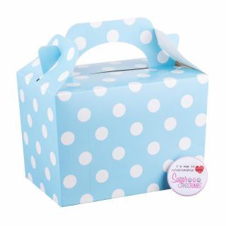 Sweet Treat Box with Handle Spotted
