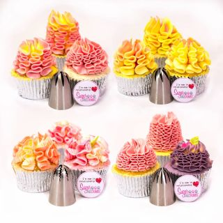 Swirls and Ruffles Nifty Nozzles Set of 4