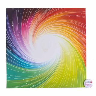 Tal Tsafrir Contact Paper COLOURFUL SPIRAL