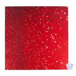 Tal Tsafrir Contact Paper RED SPARKLES