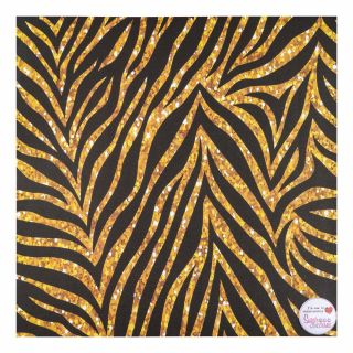 Tal Tsafrir Contact Paper Golden Zebra