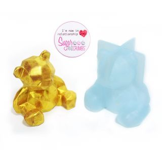 S&C Silicone Mould Chocolate 3D Teddy Bear