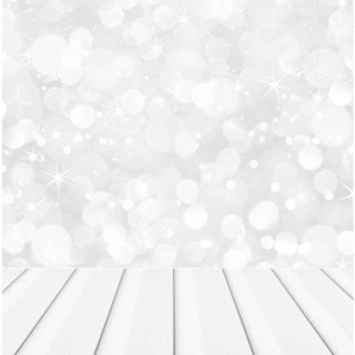 Backdrop Photography Sheets Large SILVER BOKEH WOOD FLOOR